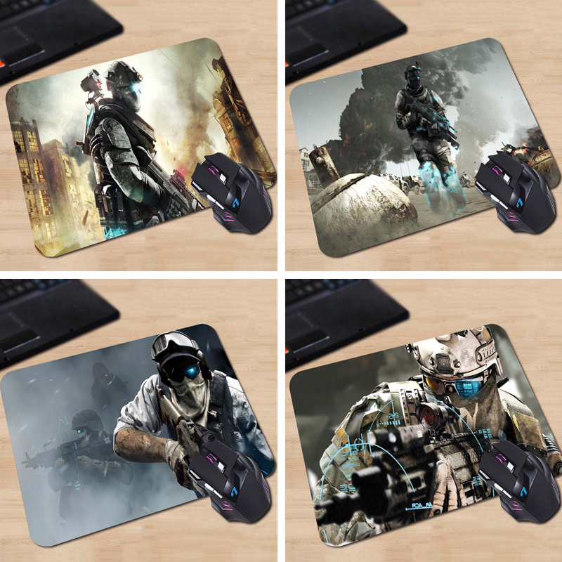 Babaite tom clancys ghost recon future soldier Free shipping Rubber Gaming Mouse Pad 180x220x2mm 250x290x2mm Mat ...