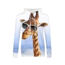 Fashion Giraffe With Sunglasses Design 3D Printed Women Hip