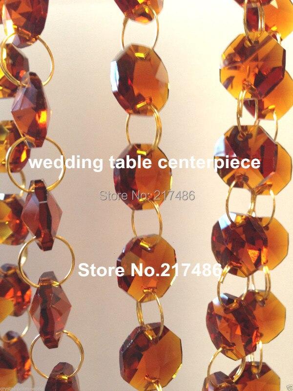 chandelier crystal chain acrylic strand beads decoration in bulk