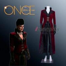 Una vez una reina malvada Regina del traje de Cosplay de halloween hecho a  medida( 25f1cf5a689