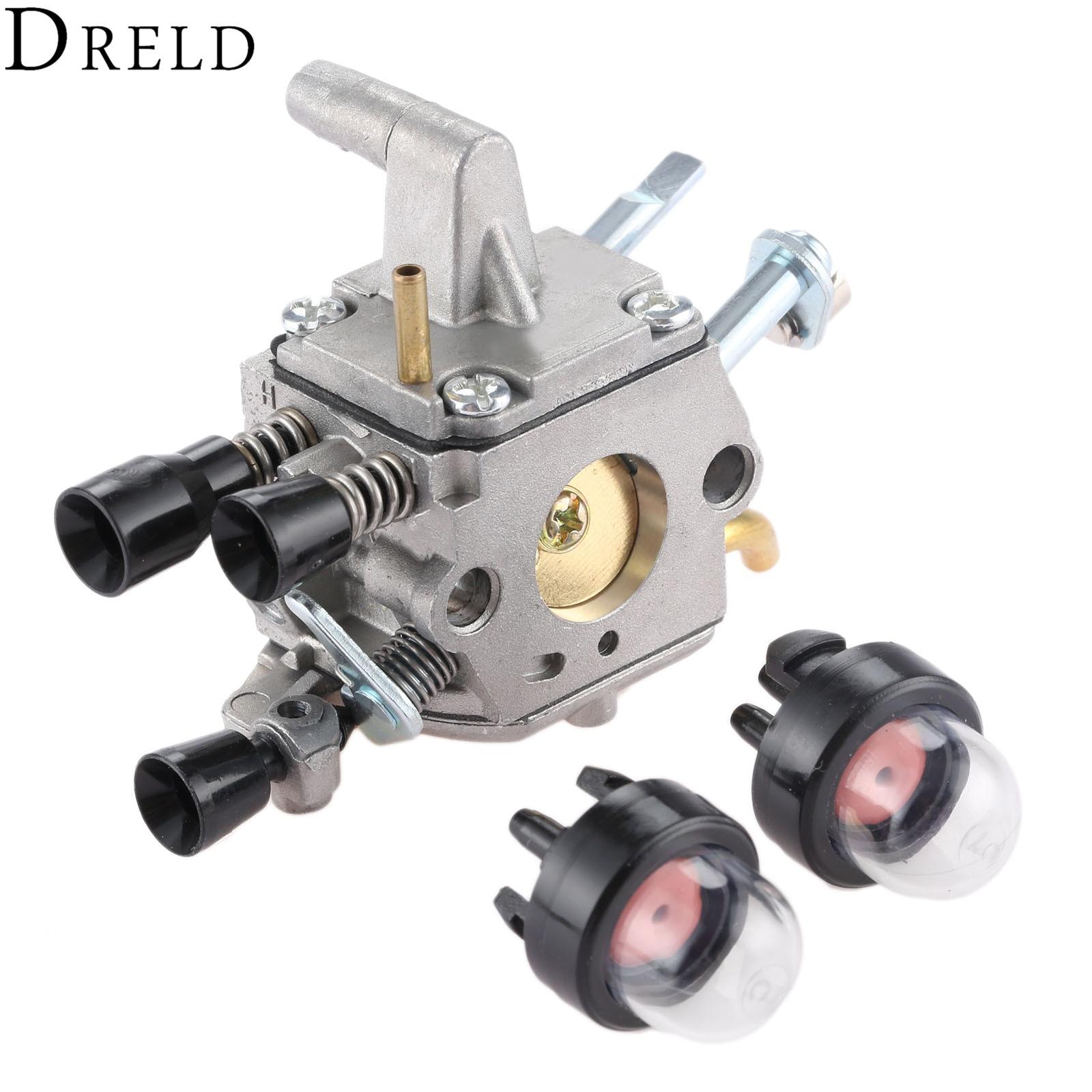 DRELD Carburetor Carb For STIHL FS400 FS450 FS480 BRUSH CUTTER BLOWERS CRAFTSMAN TRIMMER #4128 120 0607/0651 ZAMA C1Q-S154