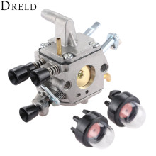 цена на DRELD Carburetor Carb for STIHL FS400 FS450 FS480 BRUSH CUTTER BLOWERS CRAFTSMAN TRIMMER #4128 120 0607/0651 ZAMA C1Q-S154