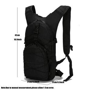 Image 2 - 15l ultraleve molle tático mochila 800d oxford militar caminhadas bicicleta mochila esportes ao ar livre ciclismo escalada saco 4 cores