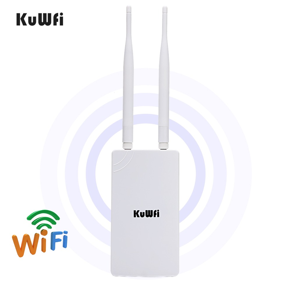 Image 2 - 2.4GHz 300Mbps High Power WiFi Repeater Extender Wide Area Indoor Wi Fi Amplifier With 360 Degree Omnidirection Antennas-in Wireless Routers from Computer & Office
