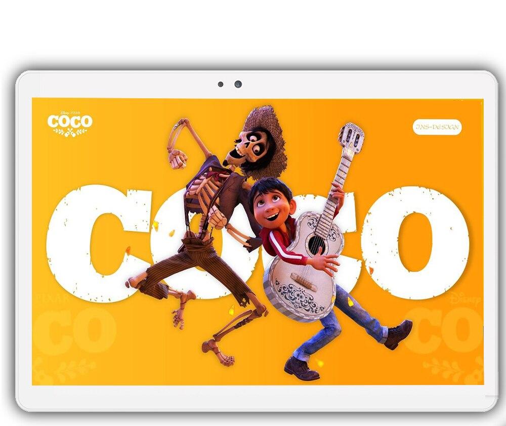 CARBAYTA 10.1 «Comprimés Google Android 7.0 10 Core 128 gb ROM 8MP Dual SIM Caméra Tablet PC GPS bluetooth téléphone MT6797 320 dpi