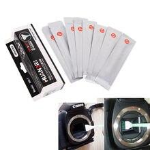 Устройства для чистки камер Комплект CCD 8 in1 сухой + мокрой Swab сухой очиститель полный Рамки 24 мм Большой CMOS CCD SWAB для canon цифровых зеркальных фотокамер Nikon Объективы для фотоаппаратов Сенсор