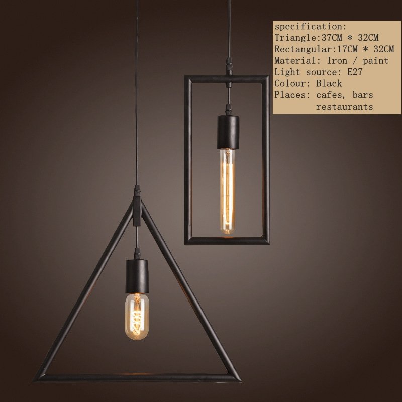 Vintage Pendant Lights  Industrial Retro LOFT Lamp Avize Nordic Pendant Lamp E27 Holder Iron Restaurant Bar Counter Attic Lamp loft vintage industrial retro pendant lamp edison light e27 holder iron restaurant bar counter brief hanging lamp wpl098