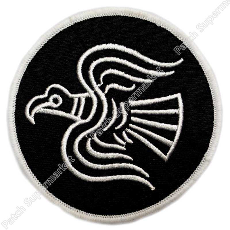 d678d9cc60ff68 ODIN RAVEN PATCH Biker Vest iron-on VIKING EMBLEM embroidered NORSE  MYTHOLOGY NORWAY LOGO Iron