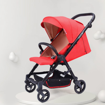 Can sit and lay high landscape baby stroller light folding baby stroller ultra light small summer baby strollerCan sit and lay high landscape baby stroller light folding baby stroller ultra light small summer baby stroller