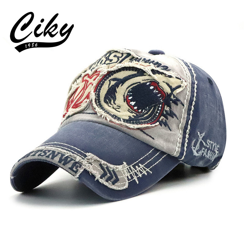CIKY   Baseball     Cap   for men women Gorras Adult Snapback Embroidery Patch Outdoor Sun Hat Fashion High Quality B-314