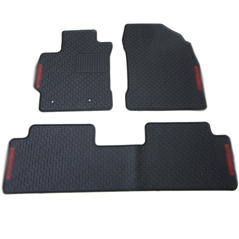Ipoboo New Genuine Dedicated Front&Rear Floor Slip-resistant Rubber Mats For Toyota Corolla