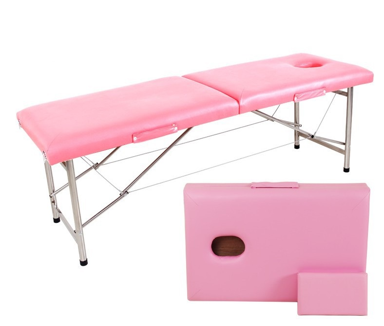 Image 5 - Stable Professional Spa Massage Tables Foldable Salon Furniture PU Bed Thick Beauty Massage Table-in Massage Tables from Furniture