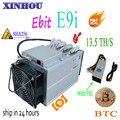 Новый Майнер биткоинов Ebit E9i 13,5 T SHA256 Asic шахтер с PSU BTC добычи BCH лучше, чем E10 antminer S9 S11 S15 T15 B7 M10 M3x T3