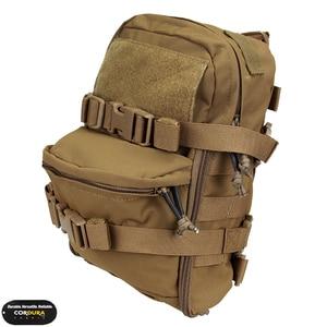 Image 1 - TMC Mini bolsa de hidratación Molle, mochila de Paintball Airsoft, equipo de combate, mochila para deportes de senderismo, 2503
