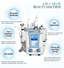 Microdermabrasion Hydro Facial Machine 6 in 1 Hydra Dermabrasion Face Deep Cleanser Skin Care Multifunctional Facial Spa Machine