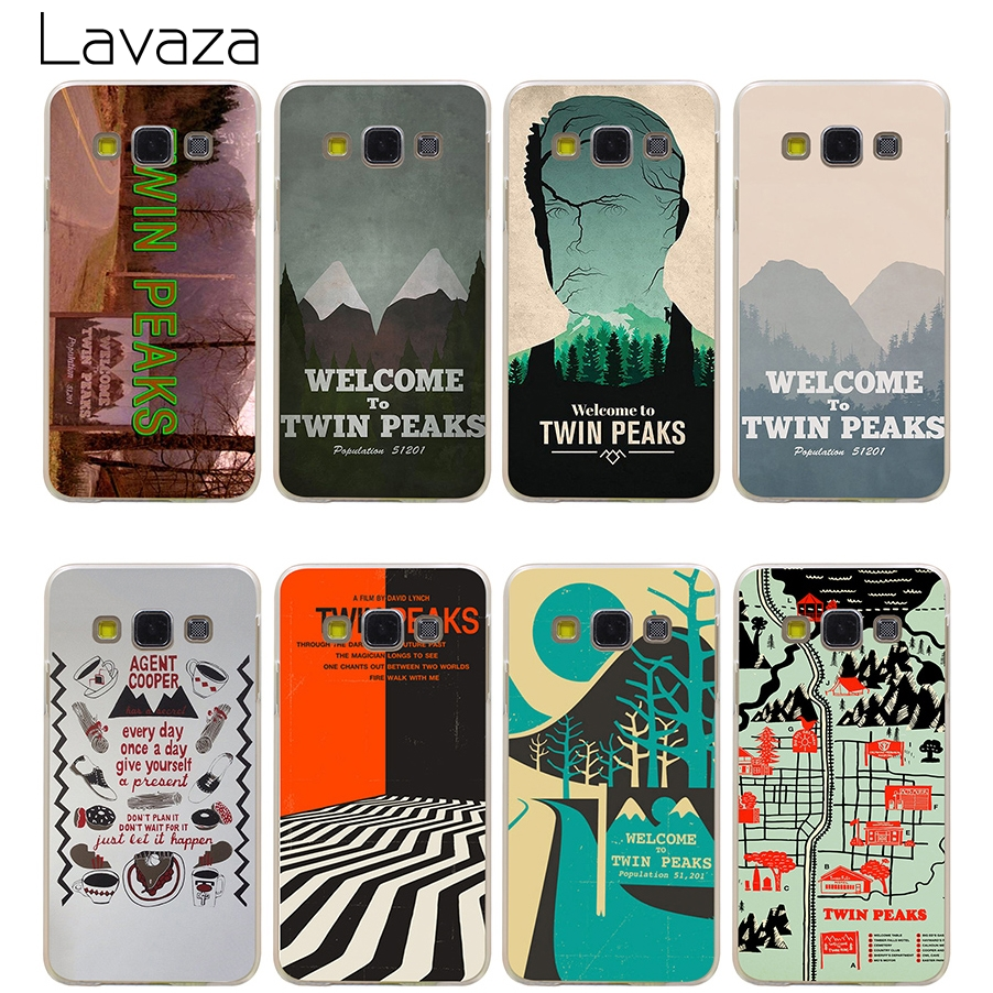 Lavaza Welcome To Twin Peaks Case for Samsung Galaxy A3 A5 A8 J1 J2 J3 J5 J7 Prime 2016 2017 2018 Note 5 8