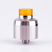 ShenRay Krma Estilo RDA Rebuildable Gotejamento Atomizador w/BF Pin-Prata, Aço Inox 316, 22mm de Diâmetro
