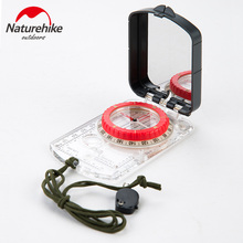 Naturehike Camping Compass Exploration Compass Fluorescent Geologic Compass   NH15A003-E compass