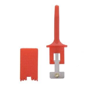 Image 3 - 10 adet/takım Testi Kanca SMD IC 6 Renkler Klip Grabbers Testi Probe