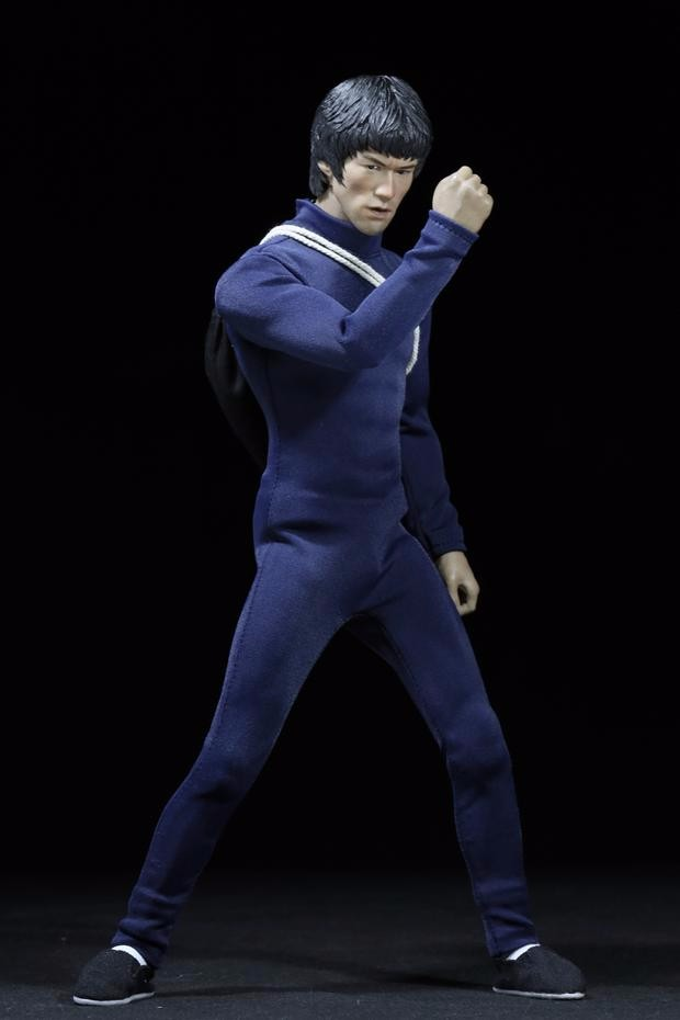 1/6 Scale Bruce Lee Enter the Dragon 75th Anniversary kung fu Suit Black color for 12 Figure archie giant comics 75th anniversary book