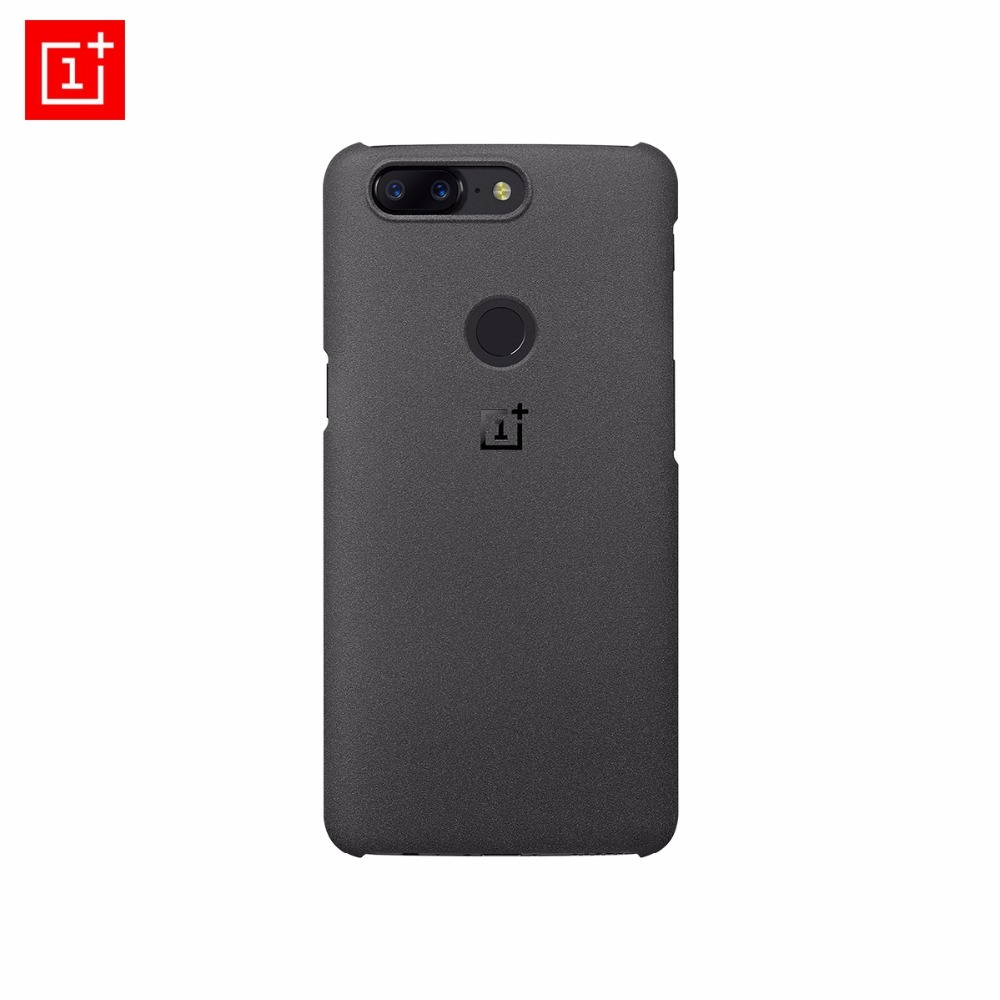 Oneplus 5t Case Original 100 Official From Oneplus Company Sanstone Protective Back Cover Case