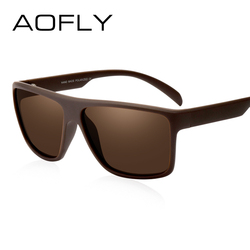 AOFLY Men Polarized Sunglasses Luxury Brand Designer HD Polaroid Lens Sunglasses Coating Driving Shades Oculos De Sol AF8032