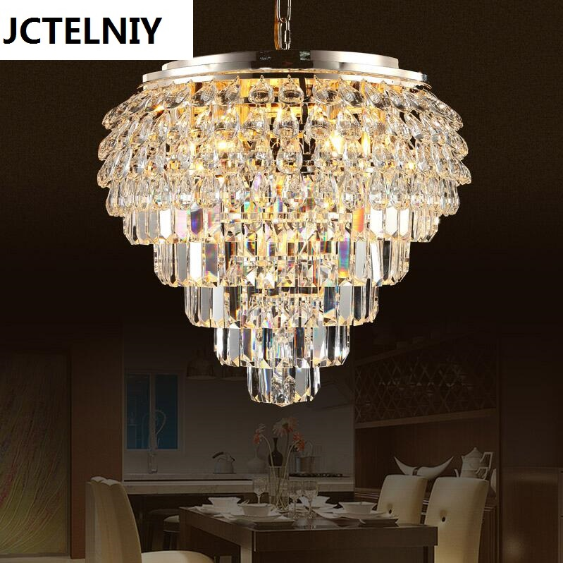 Crystal pendant light restaurant lamp led modern brief crystal lamp bedroom lamps lighting 2016 new luminaire lamparas pendant lights modern fashion crystal lamp restaurant brief decorative lighting pendant lamps 8869