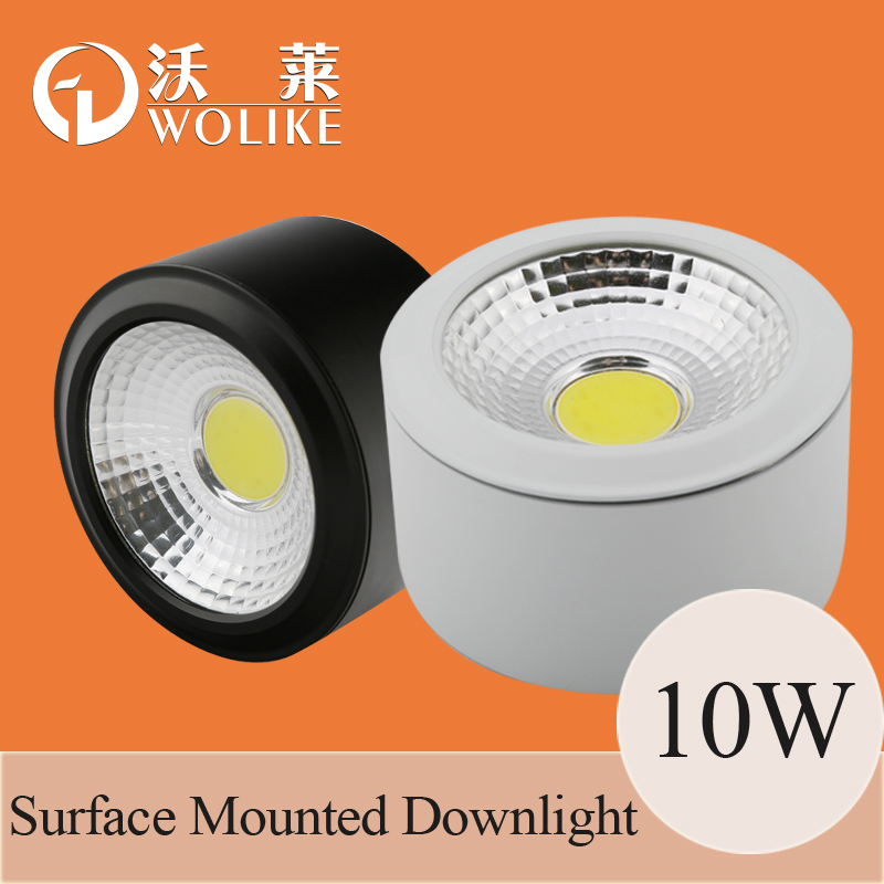 10pieces/lot 85-265V 3W 7W 10W Surface mounted LED Downlight COB ceiling lamp Aluminum home Bedroom lighting - Shenzhen Suny Lighting Co., Ltd. store