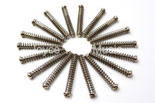 50pcs Chrome Electric Guitar Double Coils Pickup Humbucker Frame Adjust Height Screws&Springs