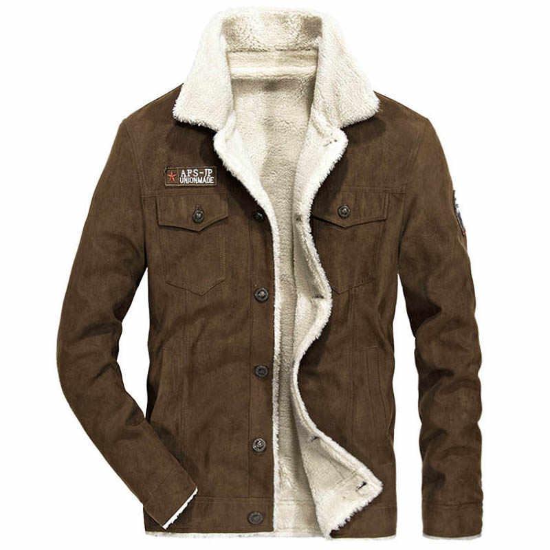 Autumn Winter Jacket Men Fleece Warm Windbreaker Coat Male Military Casual Mens  Jackets Big Size M 4XL Veste Homme Winter Coat|Jackets| - AliExpress