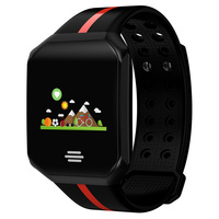 Fitness Smart Watch Men Women Large Screen Heart Rate Monitor Blood Pressure Pedometer Running Touch Sport Intelligent Watch