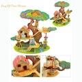 Colorido 3D Puzzle Casa de Cuento de Hadas Juguetes De Madera Para Niños juguetes Educativos Para Niños de Juguete