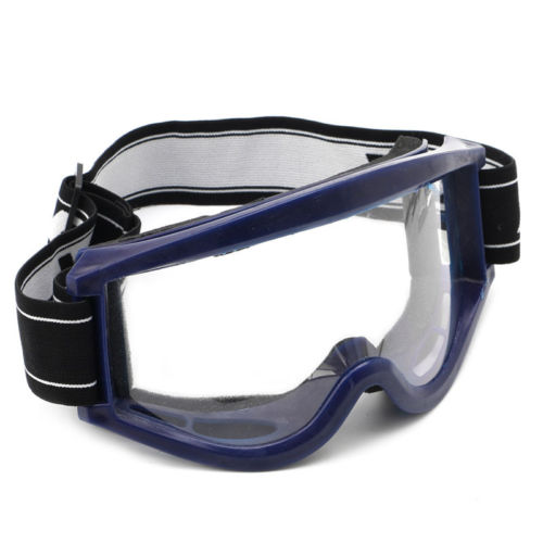 Youth Adult Motocross Motorcycle Raider Dirt Bike ATV Blue Goggle Goggles Drop shipping