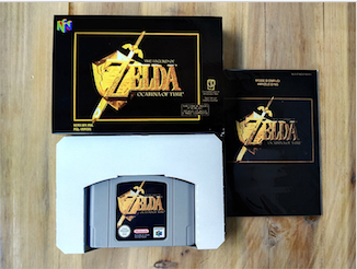 64 Bit Games ** Ocarina of time ( French PAL Version!! box+manual+cartridge!! ) 64 bit games conker s bad fur day english pal version chip save file no need battery