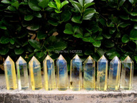 1kg (17 25pcs) smelt yellow quartz crystal point wand (7 10)cm