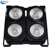 1 Pcs Lot 4 Eyes 100w Led Audience Light COB Warm White 2IN1 Color Led COB