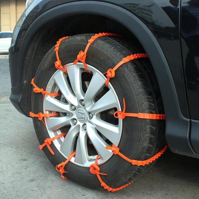 Wholesale 5 PCS Winter Anti skid Chains for Car Snow Mud Wheel Tyre ...