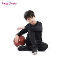 2018 New Arrival Sports Boy Clothing Sets Elasticity Tight Suit for Boys Teens Basketball Kids Dresses for Boys Christmas Gift