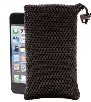 100pcs free shipping mesh drawstring pouches mesh jewelry pouch mesh gift pouches bags custom logo Iphone bag jewelry bag