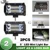CO LIGHT Led Bar Offroad 5 72W Led Work Light Spot 12V 24V For Lada Truck