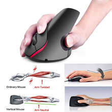 Wireless Ergonomic Vertical Mouse 2.4G 5 Buttons Mice 2400 DPI Computer Rechargeable USB Optical Mouse for PC Laptop Office