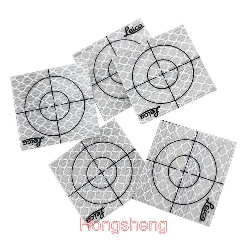 300pcs Reflector Sheet 40 x 40 mm Reflective Tape Target for Total Station new 50pcs each size reflector sheet reflective tape target for total station