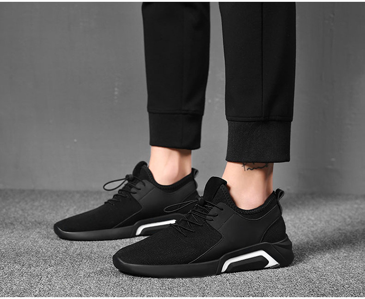 HTB14ZNPKAvoK1RjSZFDq6xY3pXaL merkmak Brand 2019 New Breathable Comfortable Mesh Men Shoes Casual Lightweight Walking Male Sneakers Fashion Lace Up Footwear