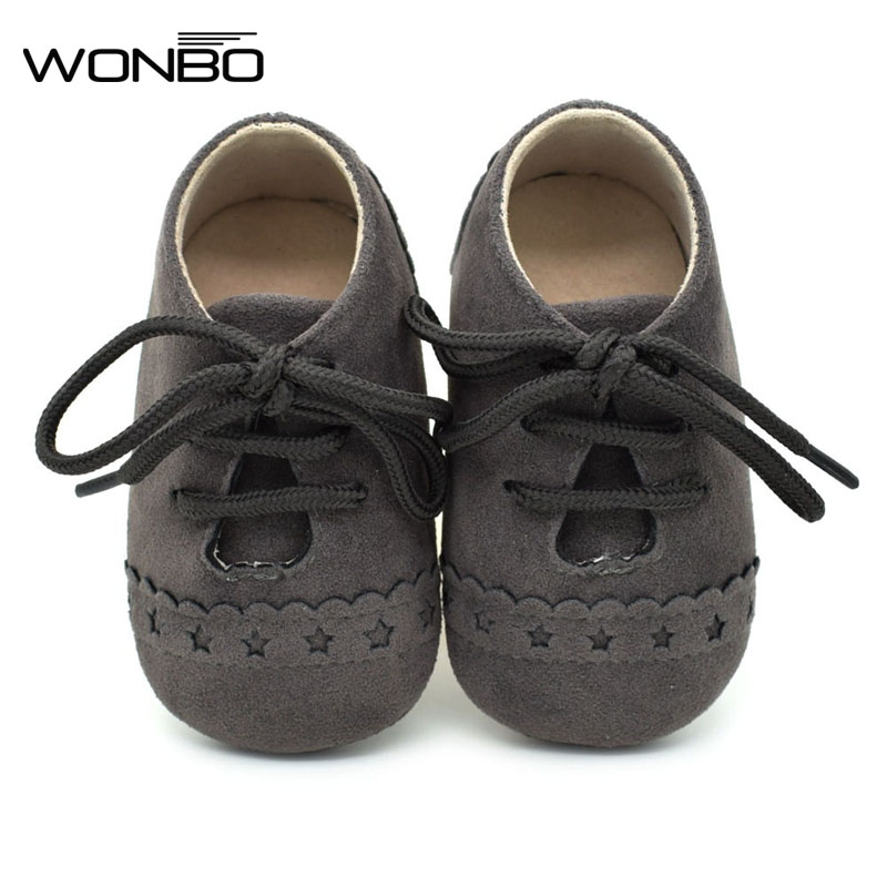 8 Color Spring Autumn Baby Step Shoes New Matte Leather Baby Shoes 0-1 year old Soft Bottom Kids Prewalker Shoes 2017