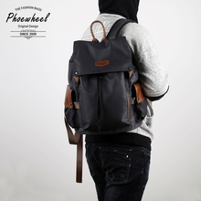 Oxford Leather Double Shoulder Bag Men Fashion Leisure Travel Bags Large-capacity Computer Backpack Student Bags