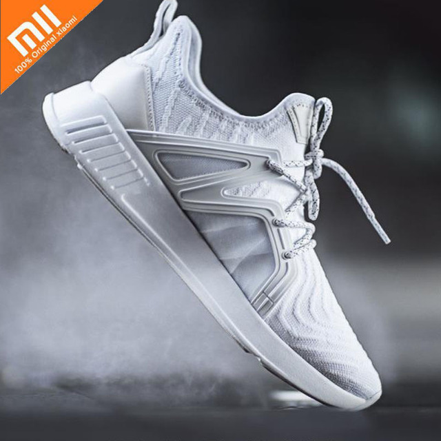 Original Xiaomi Men's Women's Sports Shoes 90-piece Siamese Sneakers Surrounded by Tpu Leather Breathable Shoes Smart