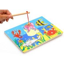 Интересные детям магнитные kid new головоломки развивающие деревянные baby игры игрушка