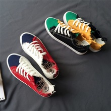 Sneakers Canvas Luxury Low flat Shoes PU27