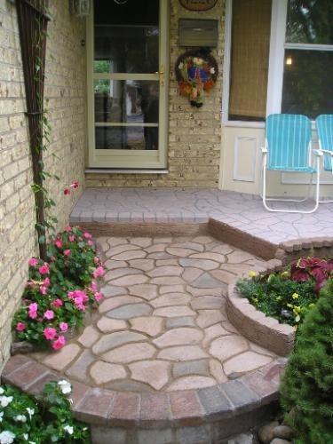 DIY каменные мостовой формы для изготовления дорожек для вашего сада бетонные садовые формы