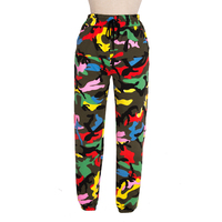 Autumn and Winter Hip hop pants women Casual Loose Punk street Dance Baggy Joggers Harem Camouflage trousers